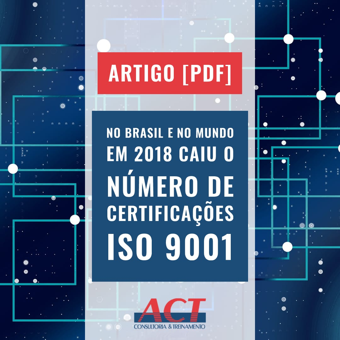número de empresas certificadas iso 9001 2018 comparativo